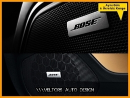 Land Rover BOSE Hoparlör Stereo Logo Amblem Seti