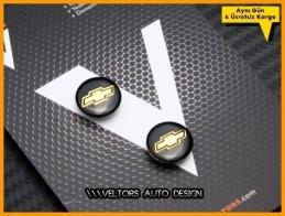 Chevrolet Anahtarlık Kumanda Logo Amblem Seti