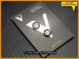 Toyota Anahtarlık Kumanda Logo Amblem Seti