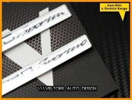 Toyota Sport Araç Logo Amblem Seti