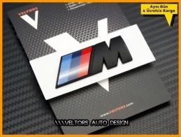 BMW Orjinal M Bagaj Yazı Logo Amblem