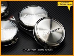 Mercedes Lorinser Logo Amblem Jant Göbeği Göbek Kapak Seti