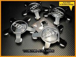 Audi Jant Göbeği Göbek Kapak Seti
