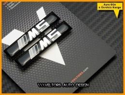BMW 5 Serisi M5 Body Logo Amblem Seti