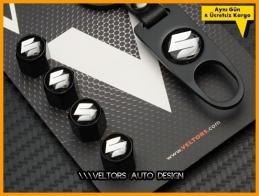Suzuki Logo Amblem Anahtarlık Sibop Kapak Seti