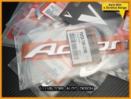 Honda Accord Orjinal Bagaj Yazı Logo Amblem
