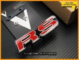 Honda Civic Accord Yeni Nesil RS Ön Izgara Logo Amblem