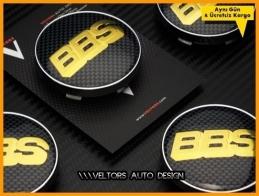 BBS Logo Amblem Jant Göbeği Göbek Kapak Seti