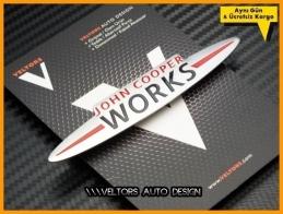 Mini  John Cooper Works Torpido Kokpit Logo Amblem