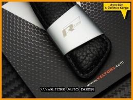 VW The Originality R Line Logo Amblem Anahtarlık