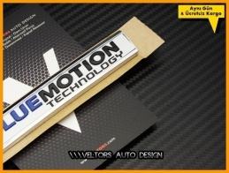 VW Yeni Nesil BlueMotion Bagaj Yazı Logo Amblem