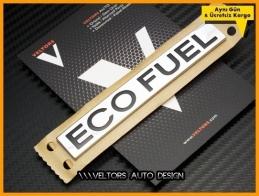 VW Yeni Nesil Eco Fuel Bagaj Yazı Logo Amblem
