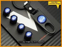 Ford Logo Amblem Anahtarlık Sibop Kapak Seti