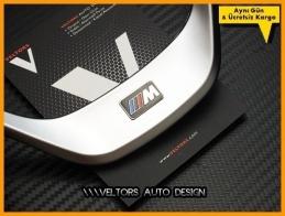 BMW F20 1 F30 3 M Logo Amblem Direksiyon Kemeri Çerçevesi