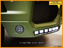 Mercedes Body BRABUS Logo Amblem Seti
