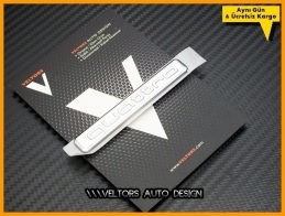 Audi Yeni Nesil Quattro Torpido Kokpit Logo Amblem