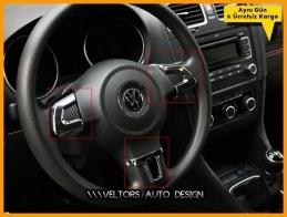 VW Golf Caddy Jetta Polo Bora Krom Direksiyon Çerçeve Seti