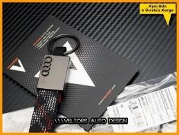 Audi Logo Amblem Orijinal Audi Anahtarlık
