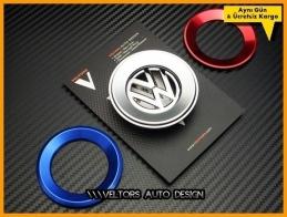 VW Direksiyon Airbag Logo Amblem Halka Gri