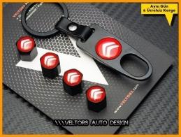 Citroen Logo Amblem Anahtarlık Sibop Kapak Seti