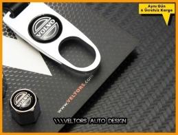 Volvo Logo Amblem Anahtarlık Sibop Kapak Seti