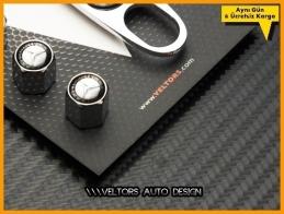 Mercedes Logo Amblem Anahtarlık Sibop Kapak Seti