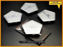 BMW AC Schnitzer Logo Amblem Jant Göbeği Göbek Kapak Seti