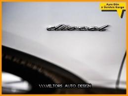 Porsche Yan Çamurluk Kapı Diesel Yazı Logo Amblem