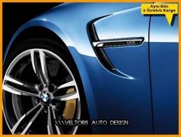 BMW M Technic M3 Yan Çamurluk Izgara Yazı Logo Amblem Seti