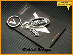 Land Rover Logo Amblem Range Rover Anahtarlık