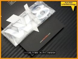 VW Araç Serisi W8 Logo Amblem