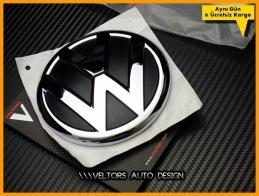 VW 2011 - 2014 Jetta Bagaj Logo Amblem