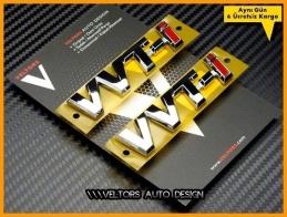 Toyota Orjinal VVT-I vvt-i Logo Amblem Seti