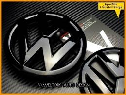 VW Polo Ön Izgara Arka Bagaj Logo Amblem Seti