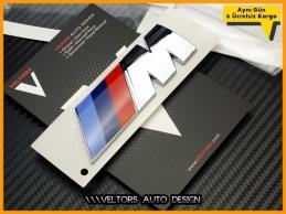 BMW Orijinal Büyük Boy M Bagaj Yazı Logo Amblem