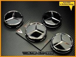 Mercedes  Jant Göbeği Göbek Kapak Seti