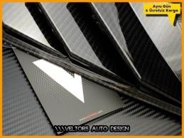 Honda Civic FC5 Karbon Carbon Yan Body Rüzgarlık Seti