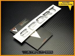 Land Rover SPORT Bagaj Yazı Logo Amblem