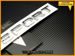 Range Rover SPORT Bagaj Yazı Logo Amblem