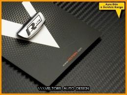 VW Golf Passat Polo Tiguan R line R Direksiyon Yazı Logo Amblem