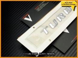 Mercedes Küllük Konsol Torpido Turbo Logo Amblem