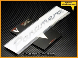 Porsche Panamera Bagaj Yazı Logo Amblem