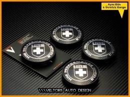 BMW HRE Logo Amblem Jant Göbek Kapak Seti