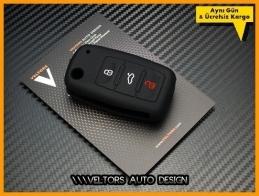 Seat Toledo Ibiza Leon Slikon Kumanda Anahtar Koruma Kabı Kılıfı