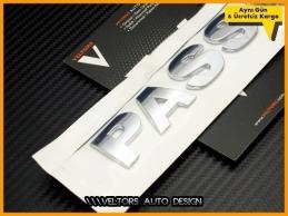 VW PASSAT Bagaj Yazı Logo Amblem