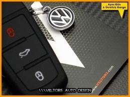 VW Logo Amblem Passat B6 B7 CC Anahtarlık Anahtar Kabı