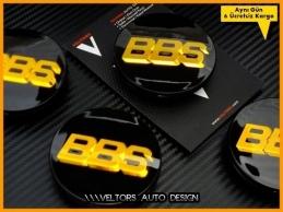 BBS Logo Amblem Jant Göbek Kapak Seti