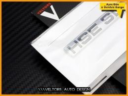 Range Rover HSE SDV6 Bagaj Yazı Logo Amblem