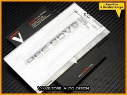 Range Rover HSE SDV8 Bagaj Yazı Logo Amblem
