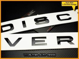 Land Rover Discovery Yazı Logo Amblem